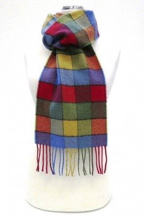 Lambswool Scarf by Calzeat - FunFair - Anita Manning Colours