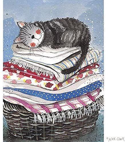 Laundry Basket Tea Towel