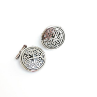Cathedral Collection Silver Cufflinks