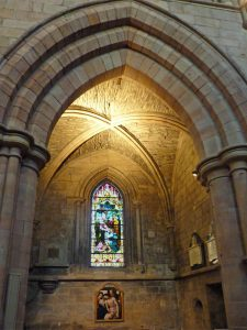 Hexham Abbey Window