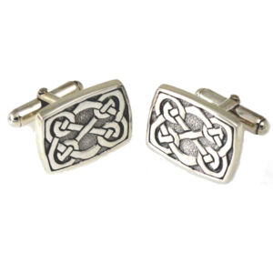 Celtic Cufflinks - rectangular shape