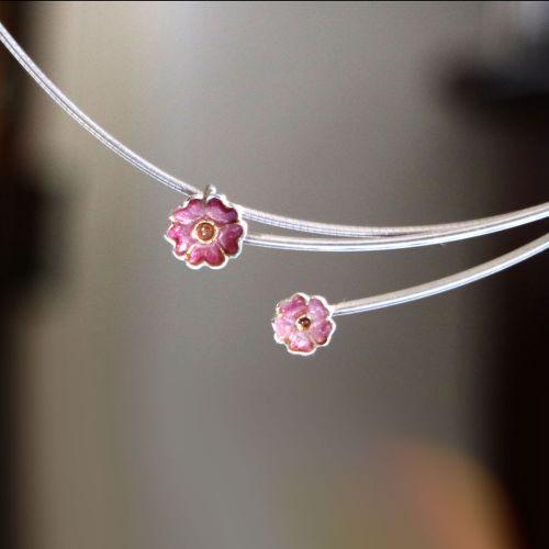 Primula Scotica Necklace by Sheila Fleet Jewellery